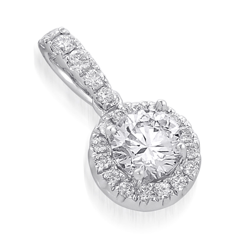 Pendant White Gold 18 Carats