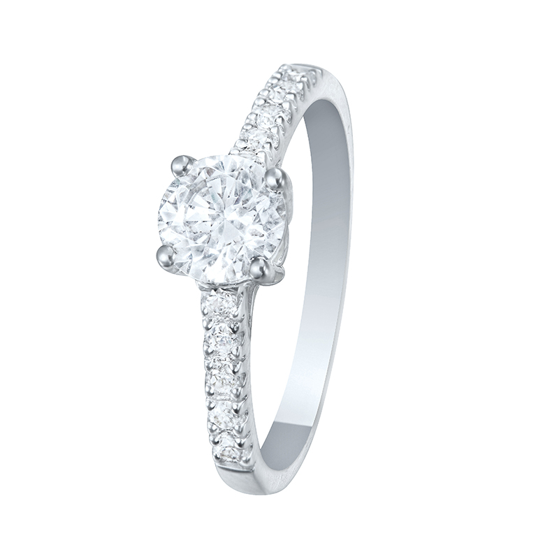 Ring White Gold 18 Carats