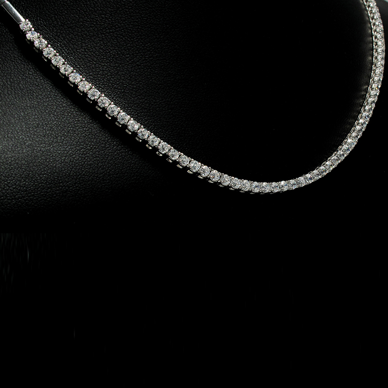Necklace White Gold 18 Carats